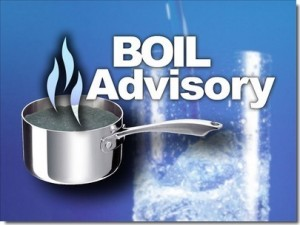 Boil Your Water Advisory