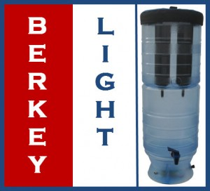 Berkey Light Water Filter and Purifier - Made In America Baby!